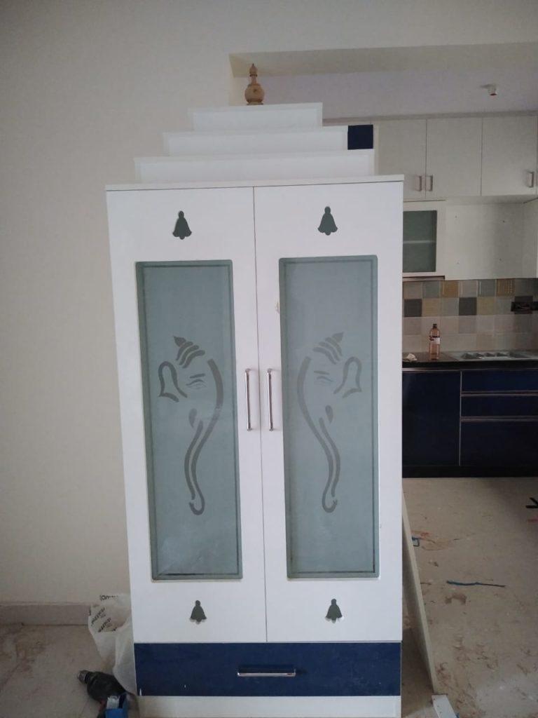 Pooja Room Designs Woodlab Interiors