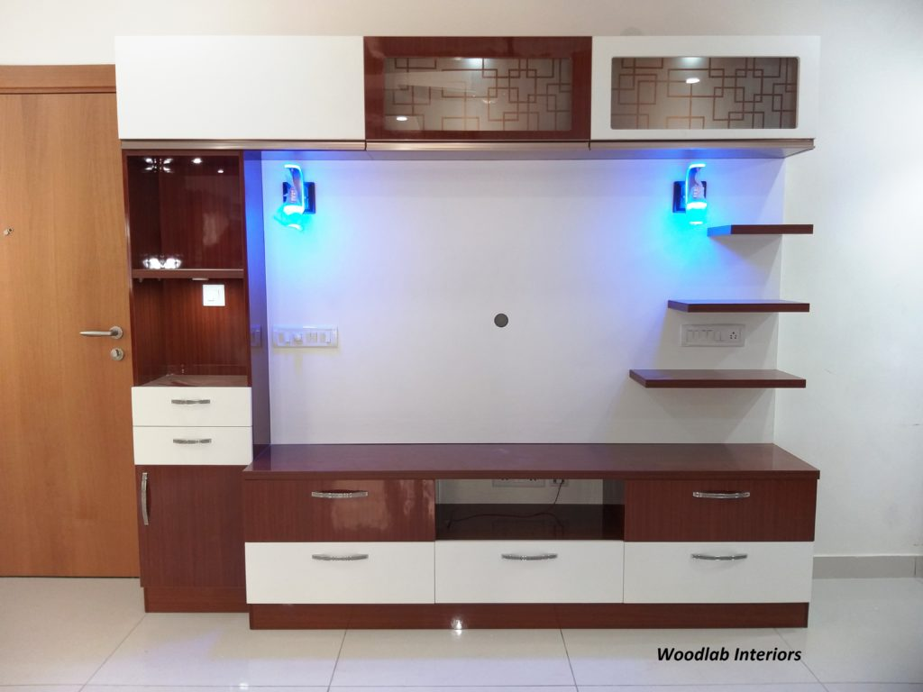 Tv Unit Design Woodlab Interiors